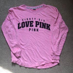 Pink! Long sleeve tee